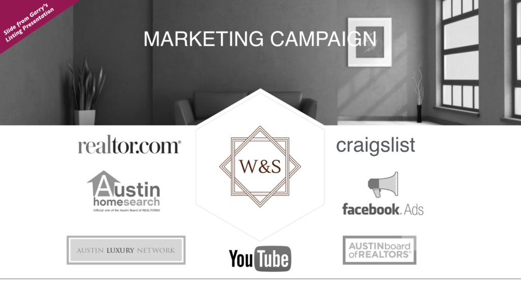 Facebook Marketing and Internet Marketing for Listing Presentation
